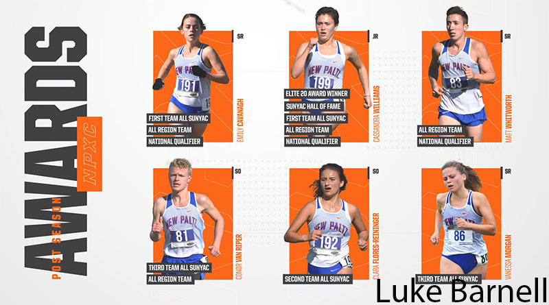 SUNY New Paltz Cross Country Earns Five All-SUNYAC Honorees, Four All-Region Recipients and SUNYAC Coach of the Year for Ryan