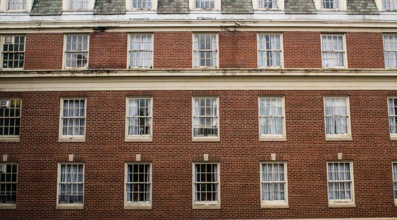 A dorm building