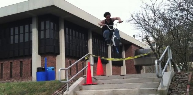 BMX Campus Tour with Lucas Rusinak
