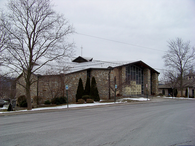 St. Joseph's Catholic Church in New Paltz. Photo courtesy of rchrdcnnnghm's flickr.