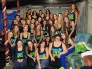 The sisters of Alpha Epsilon Phi sorority, SUNY New Paltz.