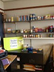 The food pantry is located in the Student Christian Center. Photo By Brittanie Leigh
