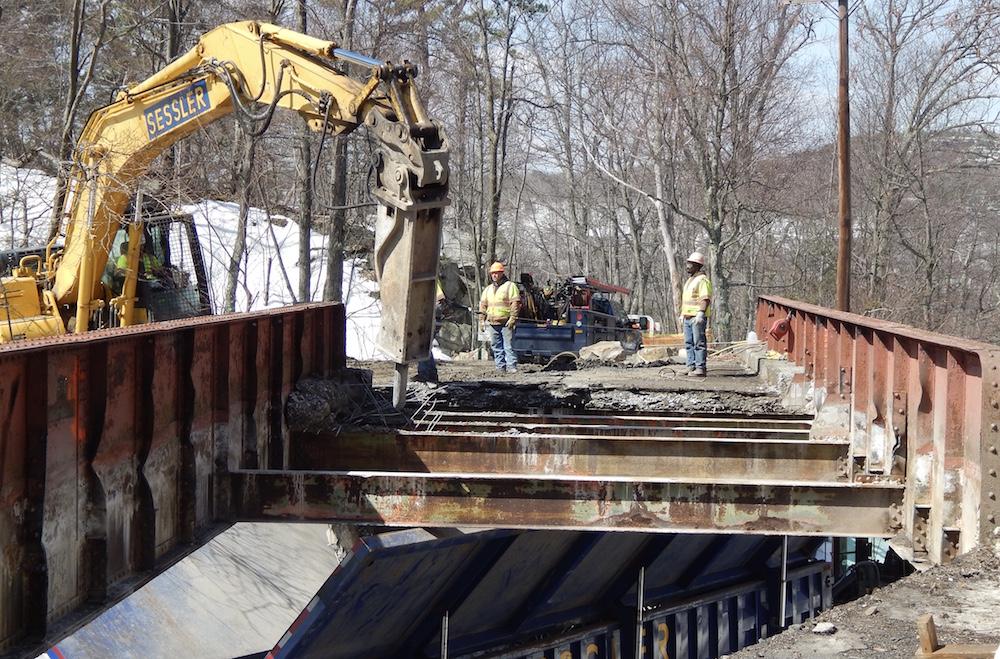 Mohonk Replaces Aging Bridge at Popular Trailhead