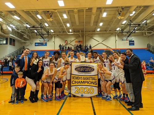 Van Pelt Leads SUNY New Paltz Women's Basketball to Second-Straight SUNYAC Title