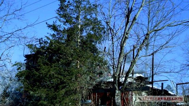 Mulberry & Church Street Fire Destroys Home