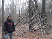 My Test: Jacob Carter's Wilderness Shelter
