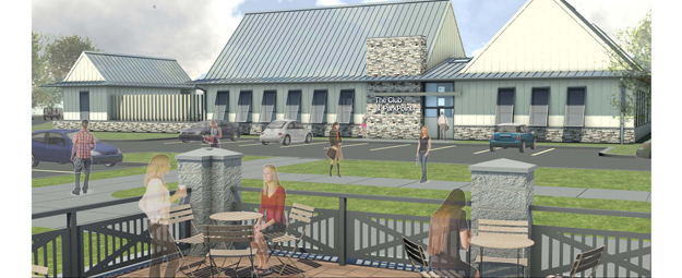 Design for Club at Park Point. Photo Courtesy of Park Point.Newpaltz.edu