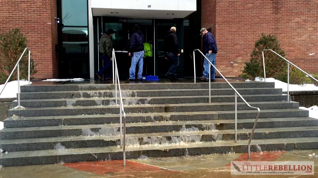 Pipe Bursts in SUNY New Paltz Science Building