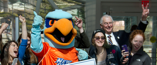 School Pride Soars as New Paltz Wins Mascot Madness