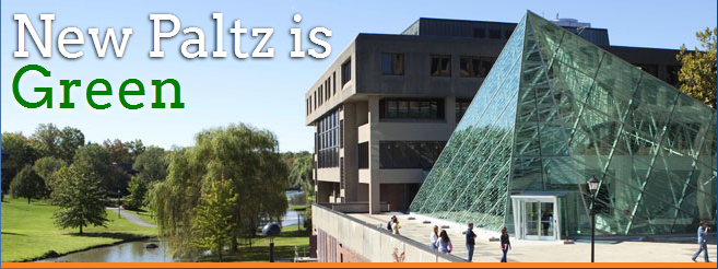 SUNY New Paltz is implementing many sustainability initiatives.