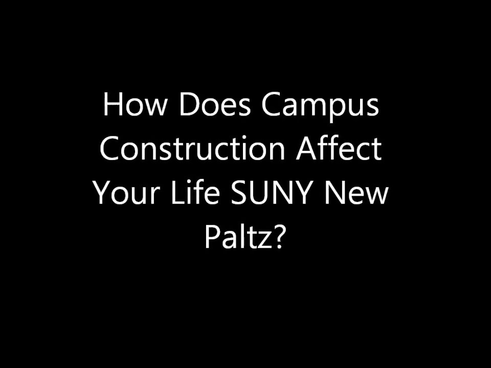 Video of the Week: Construction on Campus