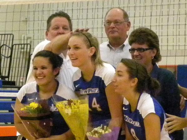 Women's Volleyball Senior Night